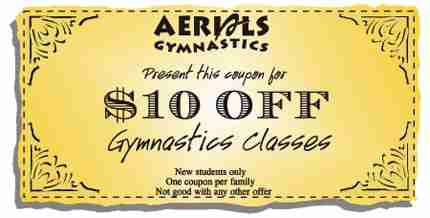 xcel gymnastics coupon