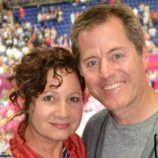 Image of Tom and Lori Forster at Colorado Aerials Gymnastics